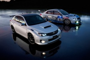 The Subaru Impreza WRX STi